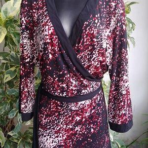 [EUC] Style & Co. Wrap Around Dress Sz 2X